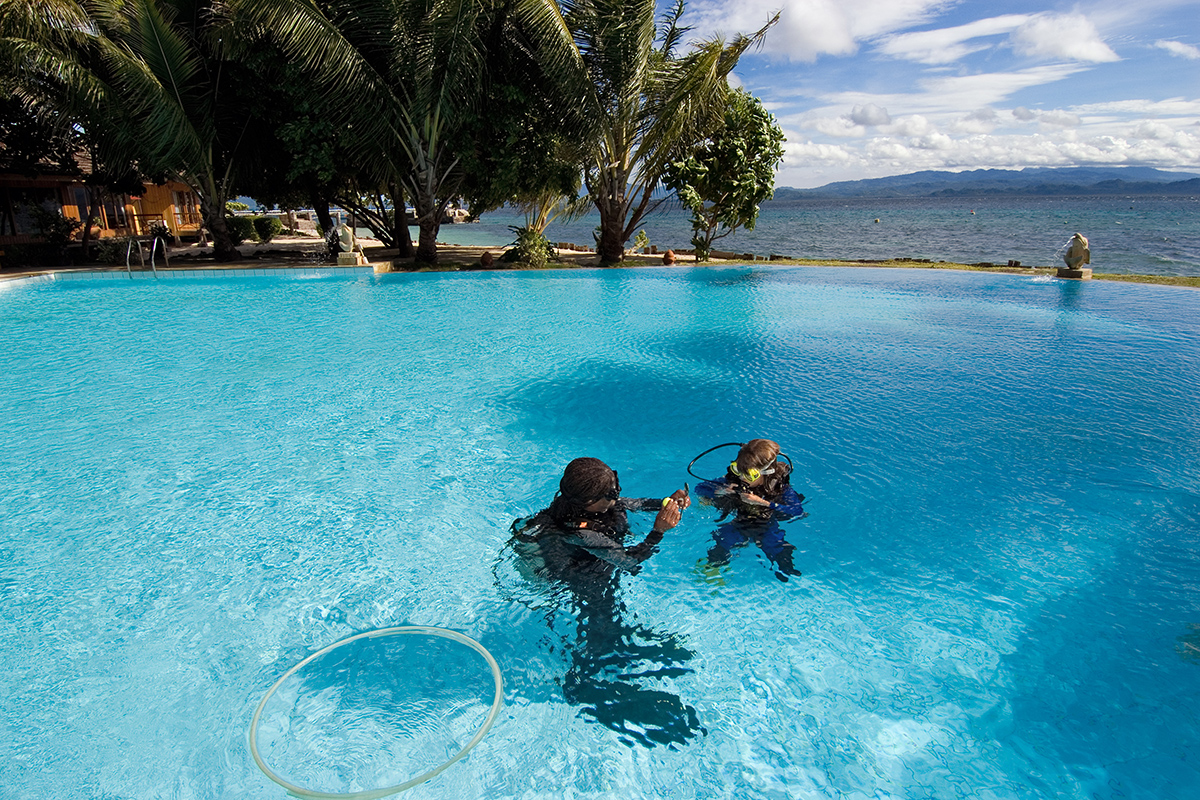 Taking Your PADI Open Water Diver Course in North Sulawesi