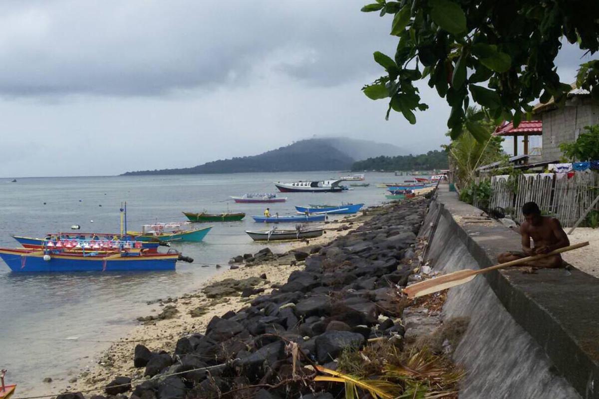 Local fisherman at Gangga Island