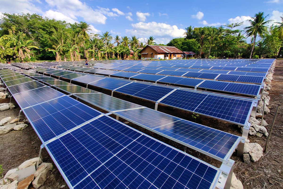 Gangga Island Resort & Spa is Now Solar Powered!