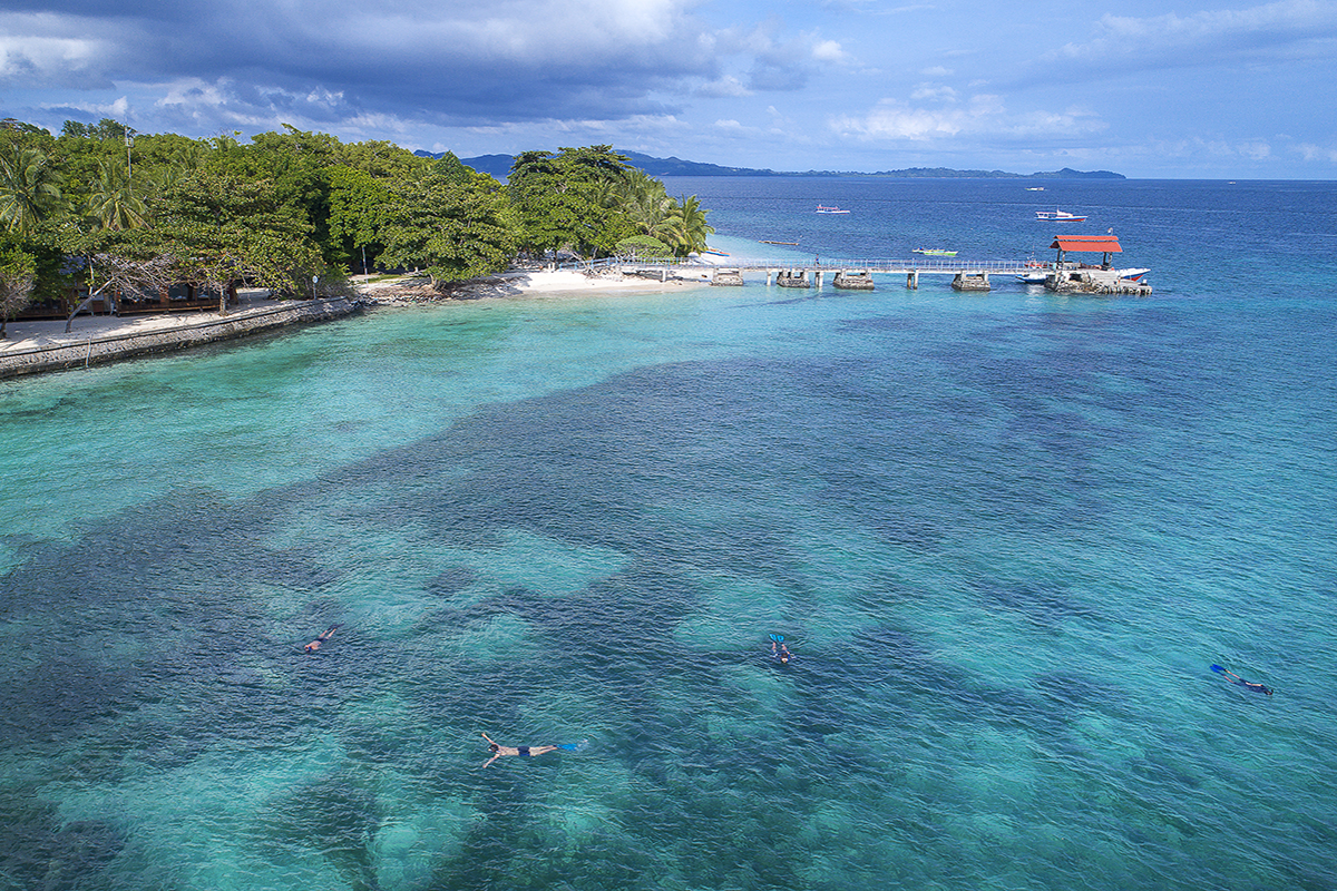 Snorkeling in North Sulawesi