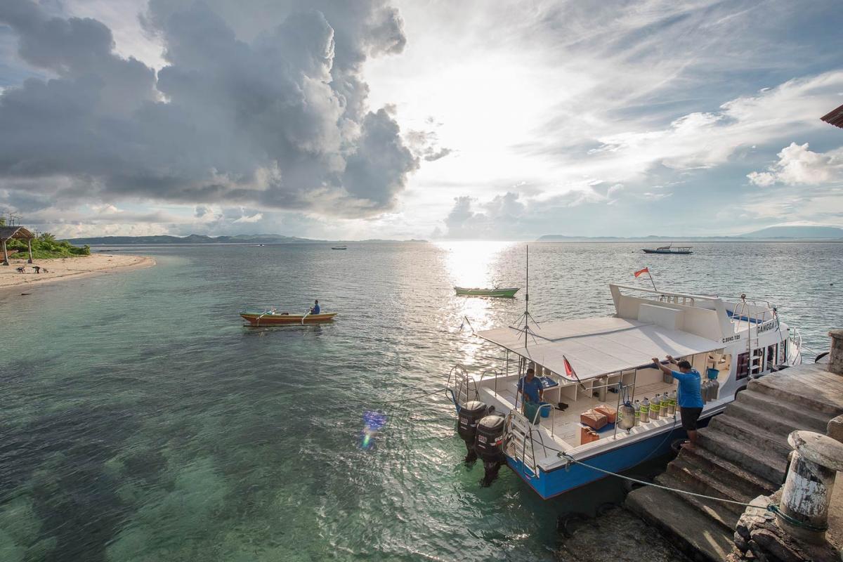 Gangga Island Resort Spa Padi Dive Center In Manado Paket Murmer Acces Point Komplit Gallery Link